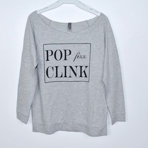 American Apparel Pop Fizz Clink Sweatshirt
